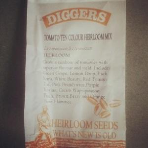 Heirloom Tomatoes Packet