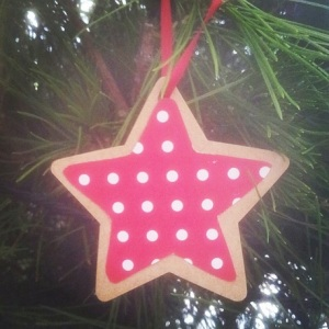 DIY Hanging Christmas Tree Ornament