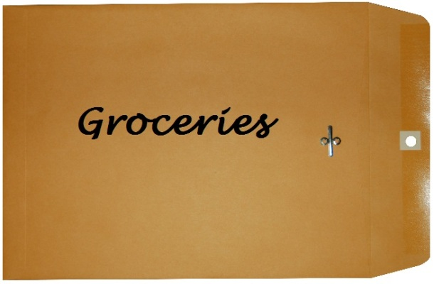 Groceries Envelope