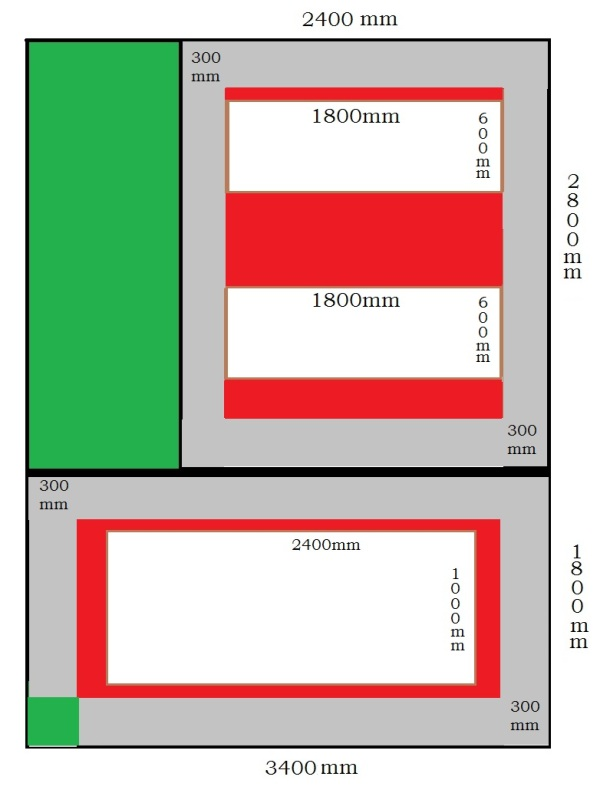 Raised Bed Layout 3