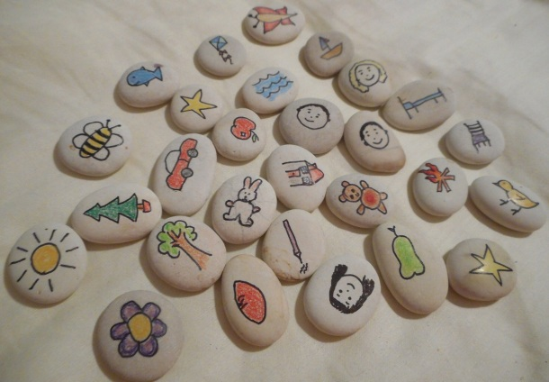Completed Story Stones