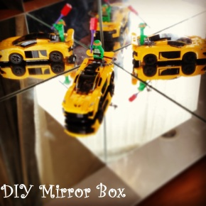 {DIY} Mirror Box