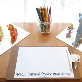 {Reggio Inspired} Creating a ProvocationSpace