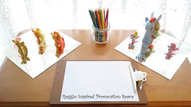 Reggio Inspired Provocation Space