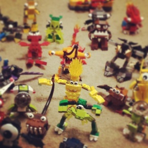 Playing with Lego Mixels