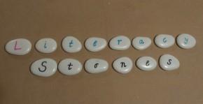 {DIY} Literacy Stones